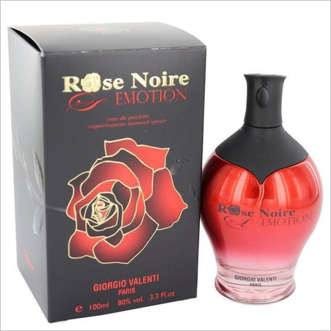 Rose Noire Emotion by Giorgio Valenti Eau De Parfum Spray 3.3 oz for Women - PERFUME