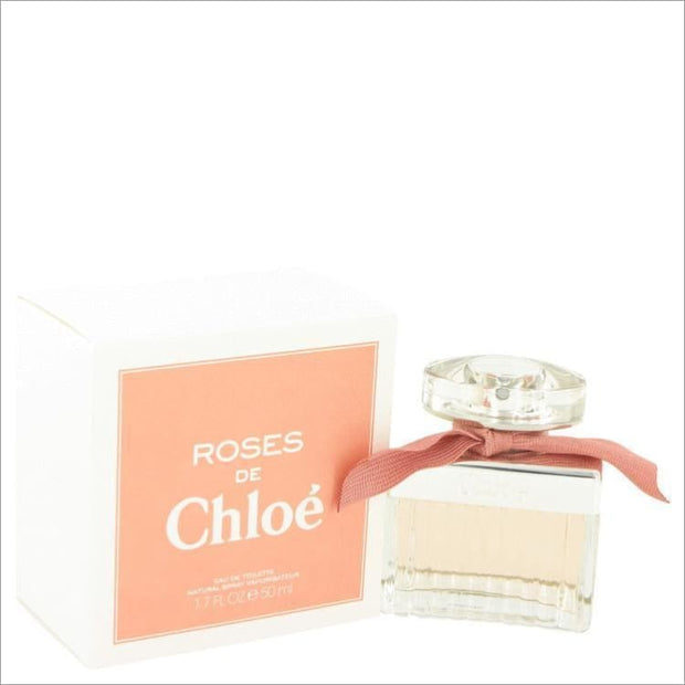 Roses De Chloe by Chloe Eau De Toilette Spray 1.7 oz for Women - PERFUME