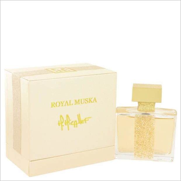 Royal Muska by M. Micallef Eau De Parfum Spray (unisex) 3.3 oz - WOMENS PERFUME