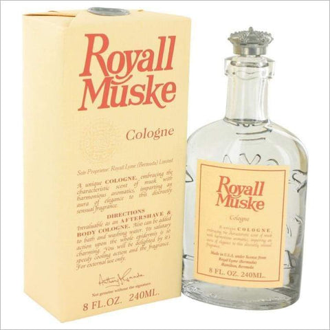 ROYALL MUSKE by Royall Fragrances All Purpose Lotion - Cologne 8 oz for Men - COLOGNE