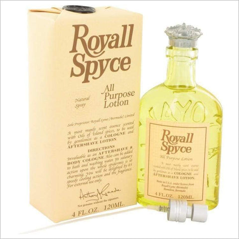 ROYALL SPYCE by Royall Fragrances All Purpose Lotion - Cologne 4 oz - MENS COLOGNE