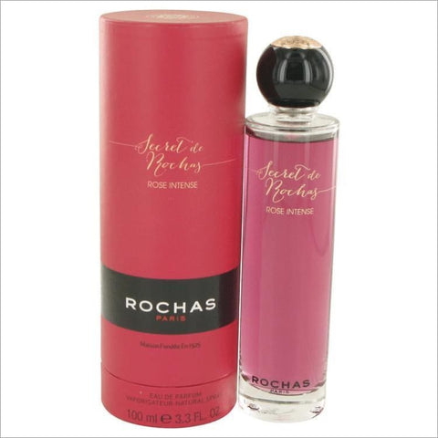 Secret De Rochas Rose Intense by Rochas Eau De Parfum Spray 3.3 oz for Women - PERFUME