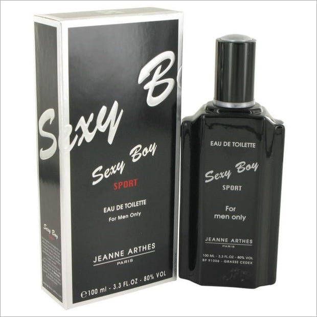 Sexy Boy Sport by Jeanne Arthes Eau De Toilette Spray 3.4 oz for Men - COLOGNE