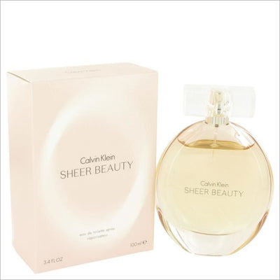 Sheer Beauty by Calvin Klein Eau De Toilette Spray 3.4 oz for Women - PERFUME