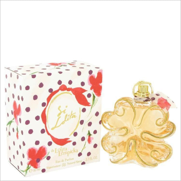 Si Lolita by Lolita Lempicka Eau De Parfum Spray 2.7 oz for Women - PERFUME