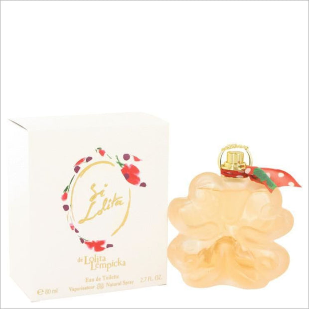 Si Lolita by Lolita Lempicka Eau De Toilette Spray 2.7 oz for Women - PERFUME