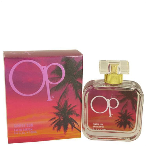 Simply Sun by Ocean Pacific Eau De Parfum Spray 3.4 oz for Women - PERFUME