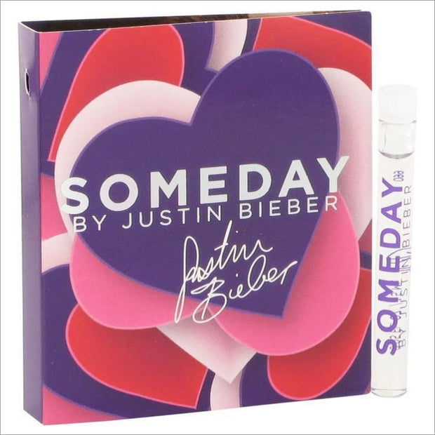 Someday by Justin Bieber Vial (sample) .05 oz for Women - PERFUME