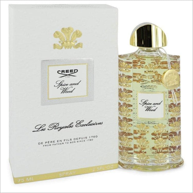 Spice and Wood by Creed Eau De Parfum Spray (Unisex) 2.5 oz for Women - Perfume