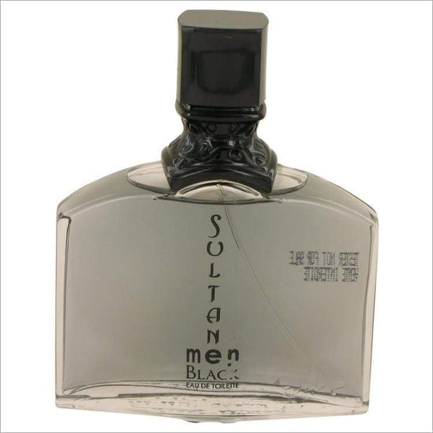 Sultan Black by Jeanne Arthes Eau De Toilette Spray (Tester) 3.3 oz for Men - COLOGNE