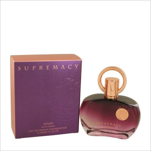 Supremacy Pour Femme by Afnan Eau De Parfum Spray 3.4 oz for Women - PERFUME