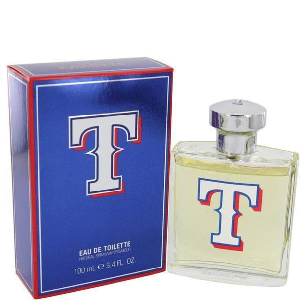 Texas Rangers by Texas Rangers Eau De Toilette Spray 3.4 oz for Men - COLOGNE