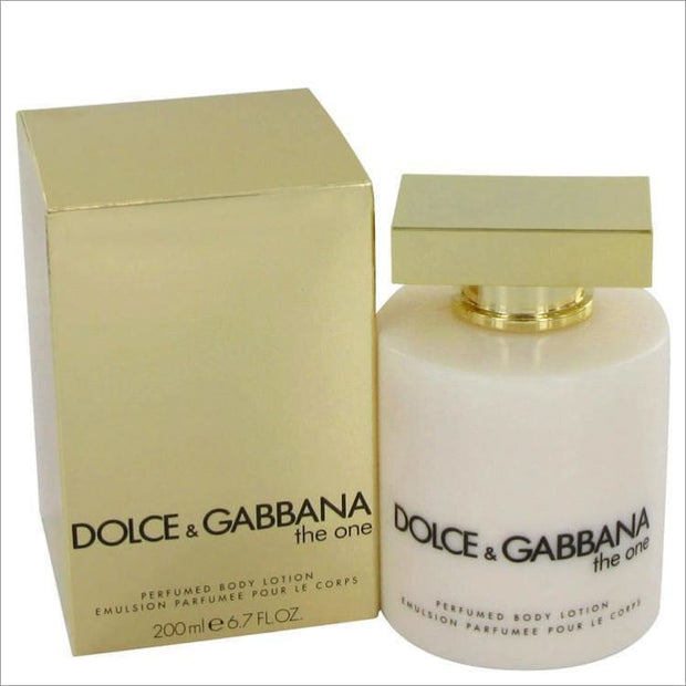 The One by Dolce & Gabbana Body Lotion 6.7 oz for Women - PERFUME