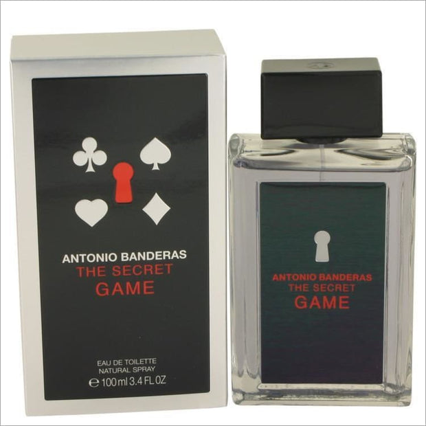 The Secret Game by Antonio Banderas Eau De Toilette Spray 3.4 oz for Men - COLOGNE