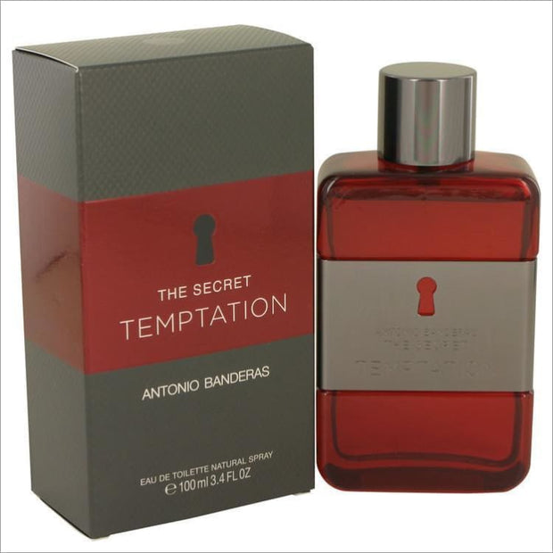 The Secret Temptation by Antonio Banderas Eau De Toilette Spray 3.4 oz for Men - COLOGNE