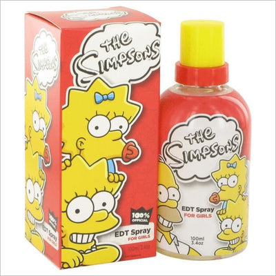 The Simpsons by Air Val International Eau De Toilette Spray 3.4 oz for Women - PERFUME