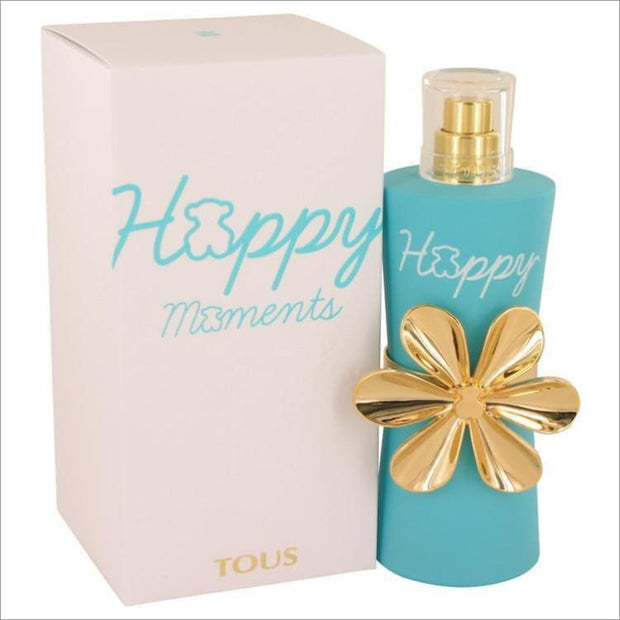 Tous Happy Moments by Tous Eau De Toilette Spray 3 oz for Women - PERFUME