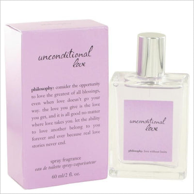 Unconditional Love by Philosophy Eau De Toilette Spray 2 oz for Women - PERFUME