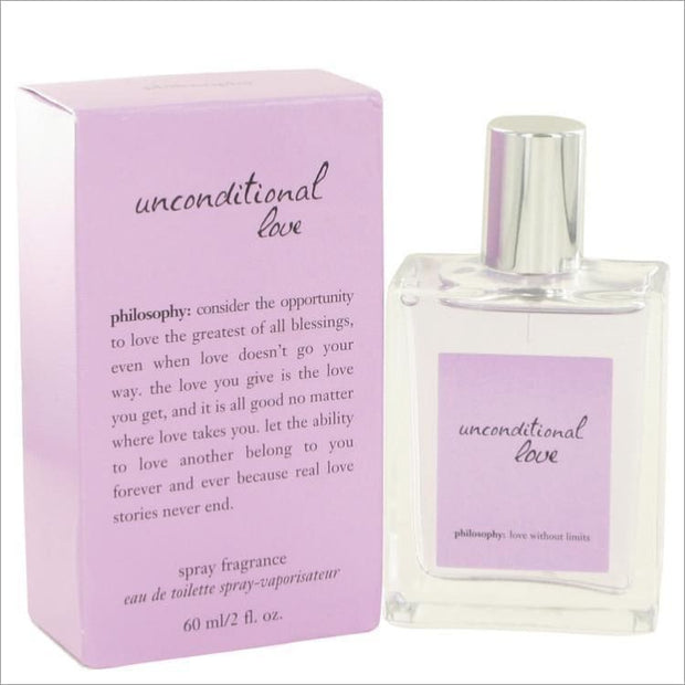 Unconditional Love by Philosophy Mini EDT Spray .13 oz - WOMENS PERFUME