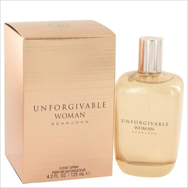 Unforgivable by Sean John Eau De Parfum Spray 4.2 oz for Women - PERFUME