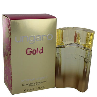 Ungaro Gold by Ungaro Eau De Toilette Spray 3 oz for Women - PERFUME