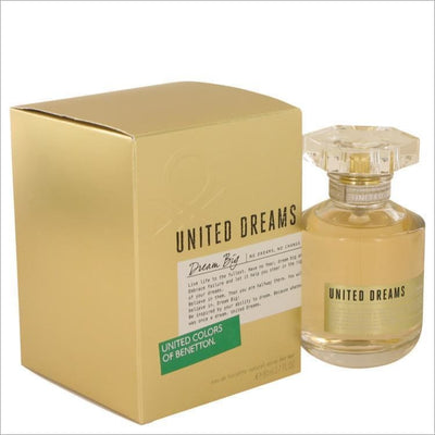 United Dreams Dream Big by Benetton Eau De Toilette Spray 2.7 oz for Women - PERFUME