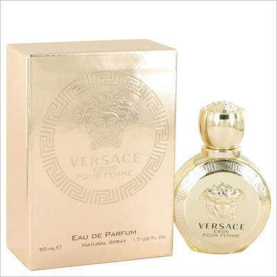 Versace Eros by Versace Eau De Parfum Spray 1.7 oz for Women - PERFUME