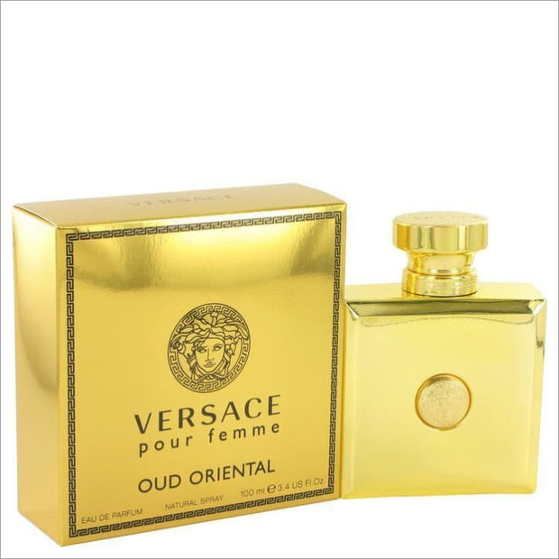 Versace Pour Femme Oud Oriental by Versace Eau De Parfum Spray 3.4 oz for Women - PERFUME