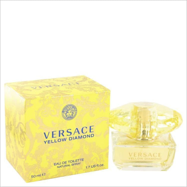 Versace Yellow Diamond by Versace Eau De Toilette Spray 1.7 oz for Women - PERFUME