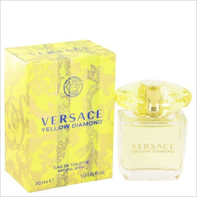 Versace Yellow Diamond by Versace Eau De Toilette Spray 1 oz for Women - PERFUME