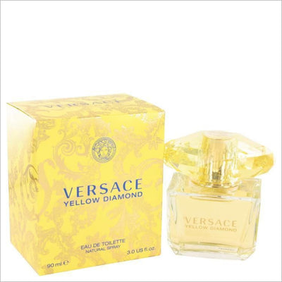 Versace Yellow Diamond by Versace Eau De Toilette Spray 3 oz for Women - PERFUME