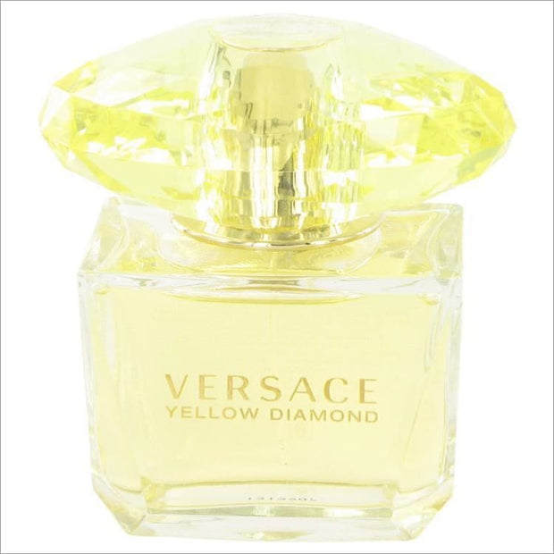 Versace Yellow Diamond by Versace Eau De Toilette Spray (Tester) 3 oz for Women - PERFUME
