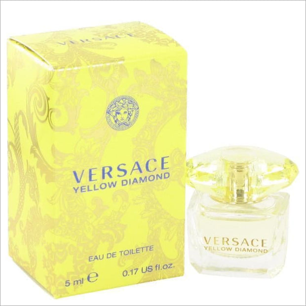 Versace Yellow Diamond by Versace Mini EDT .17 oz for Women - PERFUME