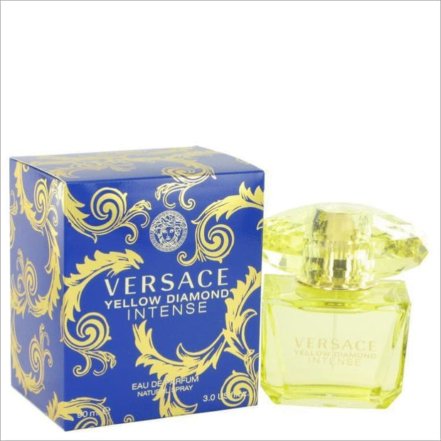 Versace Yellow Diamond Intense by Versace Eau De Parfum Spray 3 oz for Women - PERFUME