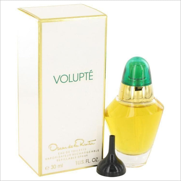 VOLUPTE by Oscar de la Renta Eau De Toilette Refillable Spray 1 oz for Women - PERFUME
