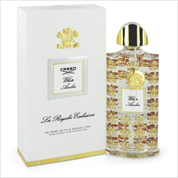 White Amber by Creed Eau De Parfum Spray 2.5 oz for Women - Perfume