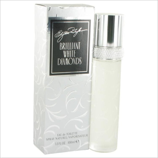 White Diamonds Brilliant by Elizabeth Taylor Eau De Toilette Spray 3.3 oz for Women - PERFUME