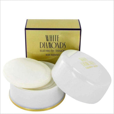 WHITE DIAMONDS by Elizabeth Taylor Dusting Powder 2.6 oz for Women - PERFUME