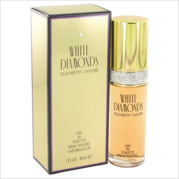 WHITE DIAMONDS by Elizabeth Taylor Eau De Toilette Spray 1 oz for Women - PERFUME