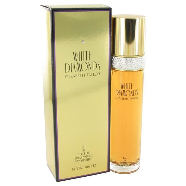 WHITE DIAMONDS by Elizabeth Taylor Eau De Toilette Spray 3.3 oz for Women - PERFUME