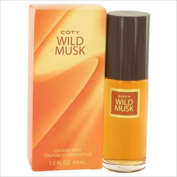 WILD MUSK by Coty Cologne Spray 1.5 oz for Women - PERFUME