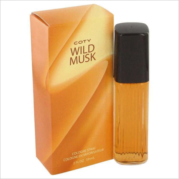 WILD MUSK by Coty Concentrate Cologne Spray 1 oz for Women - PERFUME