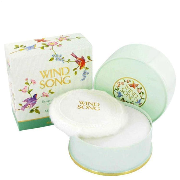 WIND SONG by Prince Matchabelli Dusting Powder 4 oz for Women - PERFUME