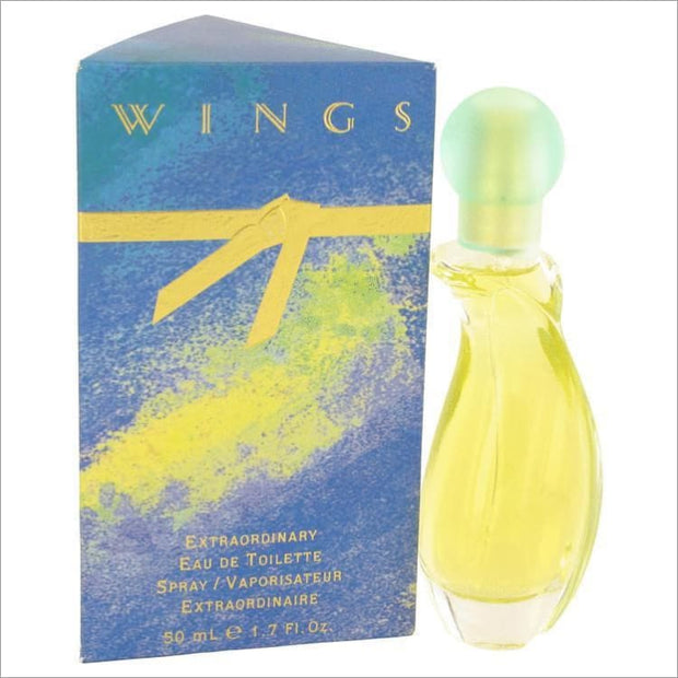 WINGS by Giorgio Beverly Hills Eau De Toilette Spray 1.7 oz for Women - PERFUME