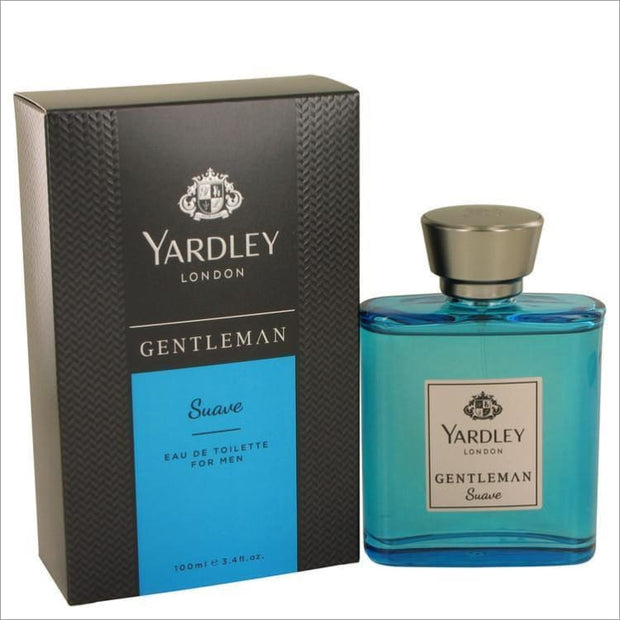 Yardley Gentleman Suave by Yardley London Eau De Toilette Spray 3.4 oz for Men - COLOGNE
