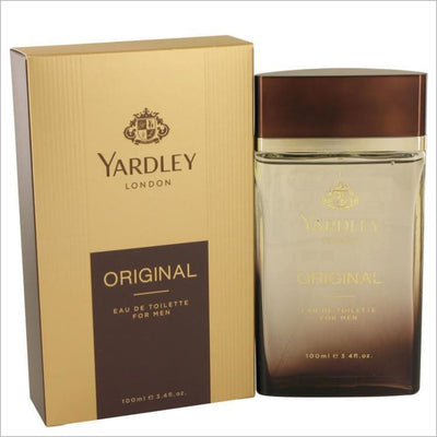 Yardley Original by Yardley London Eau De Toilette Spray 3.4 oz - MENS COLOGNE