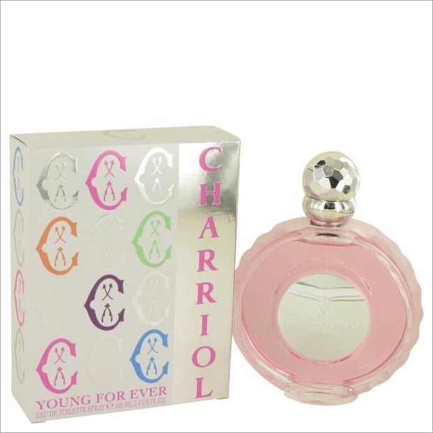 Young For Ever by Charriol Eau De Toilette Spray 3.4 oz for Women - PERFUME