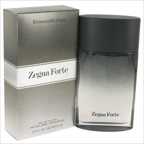 Zegna Forte by Ermenegildo Zegna Eau De Toilette Spray 3.4 oz for Men - COLOGNE