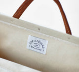 Canvas Utility Bag in White