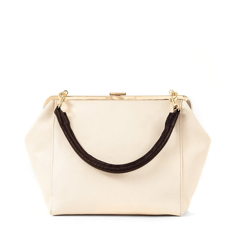 Le Big Box Bag in White